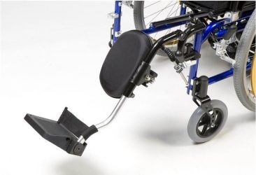 alquiler silla de ruedas con Elevador de pierna